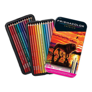 Prismacolor Pencil 24 Color Highlight/Shading Set