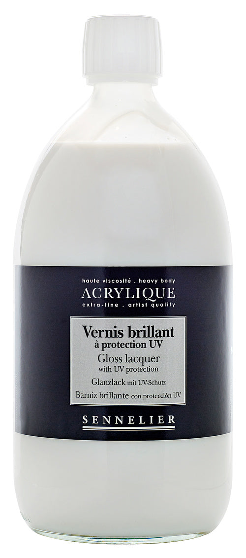 GLOSS LACQUER WITH UV PROTECTON 250ML JAR