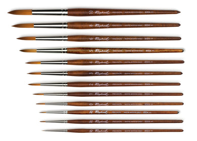 PRECISION ACRYLIC BRUSH MARTRE - IMITATION SABLE