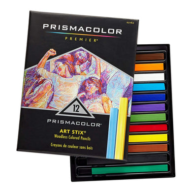 PRISMA COLOR ART STIX 12 COLOR SET