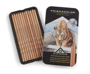 PRISMA COLOR 12 WATERCOLOR PENCIL  SET