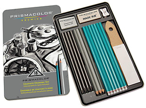 PRISMA COLOR PREMIUM 18 PC GRAPHITE  DRWNG SET
