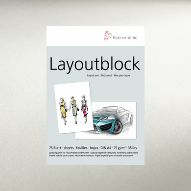 LAYOUT PAD 75GSM - 75 SHEETS