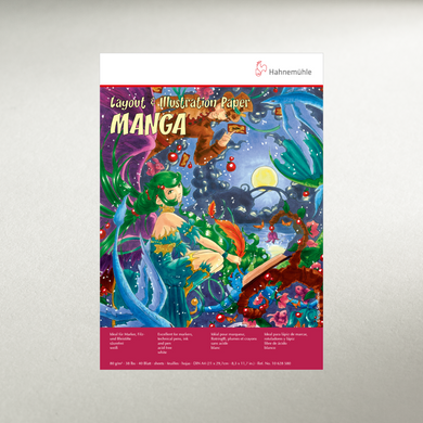Manga Layout & Illustration A4