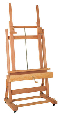 Studio Easel Double Mast With Crank