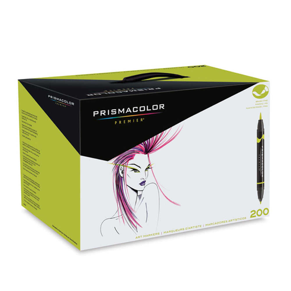 Prismacolor Brush Marker Set/200 Colors