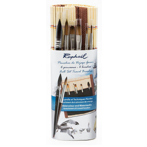 FULL SET TRAVEL BRUSHES