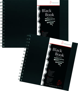 Black Book 250 gsm, spiral bound