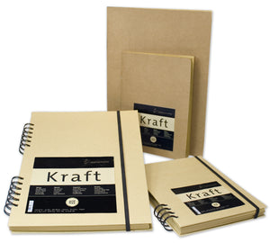 SKETCHBOOK KRAFTPAPER 120GSM - 80 SHEETS