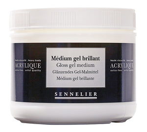 GLOSS GEL MEDIUM 500ML JAR