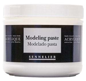 THICK MODELING PASTE 500ML JAR