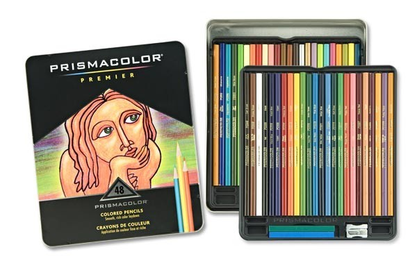 Prismacolor Pencil 48 Color Box Set