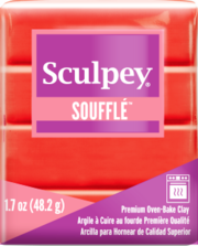 SCULPEY SOUFFLE PREMIUM OVEN-BAKE CLAY - 2 OZ BARS