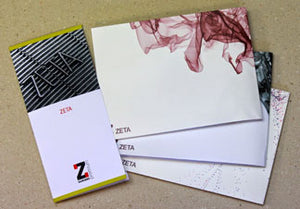 ZETA ENVELOPE 120GSM LAID DL BRILLIANT - 500/BX