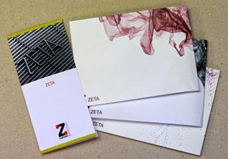ZETA ENVELOPE 120GSM WOVE DL GREY - 500/BX