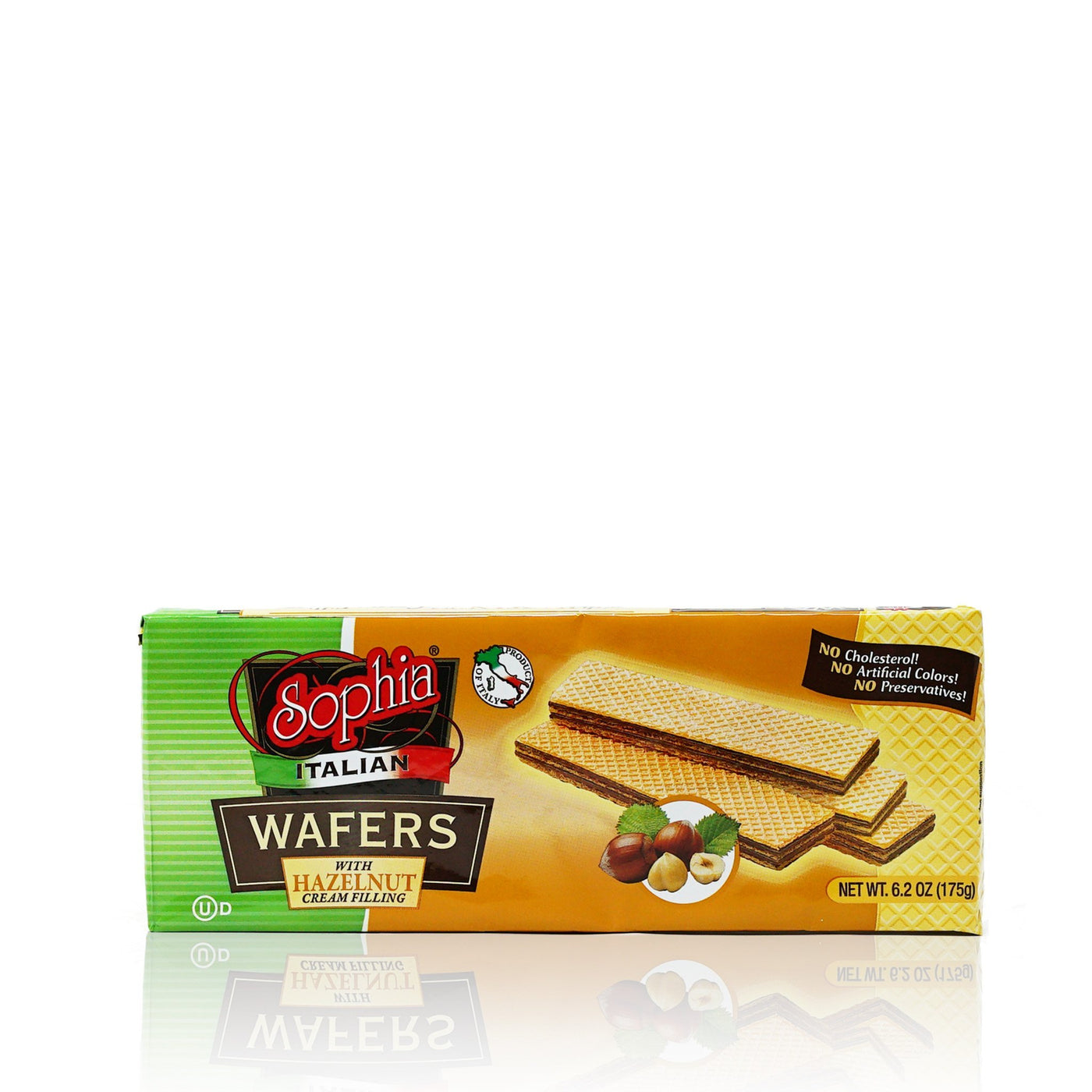 Sophia Wafers-Italian Wafer Fingers, Hazelnut 6.2oz-3 pack