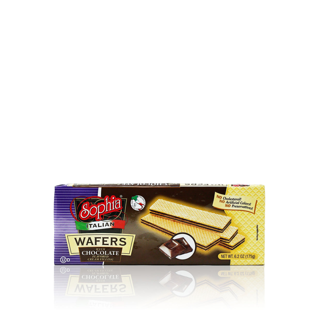 Sophia Wafers-Italian Wafer Fingers, Chocolate 6.2oz