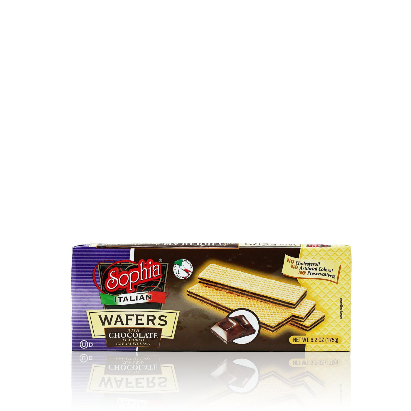 Sophia Wafers-Italian Wafer Fingers, Chocolate 6.2oz-3 pack