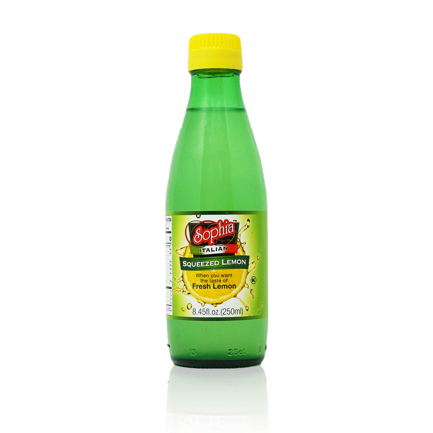 Sophia Lemon Juice Condiment from Sicily 250mL