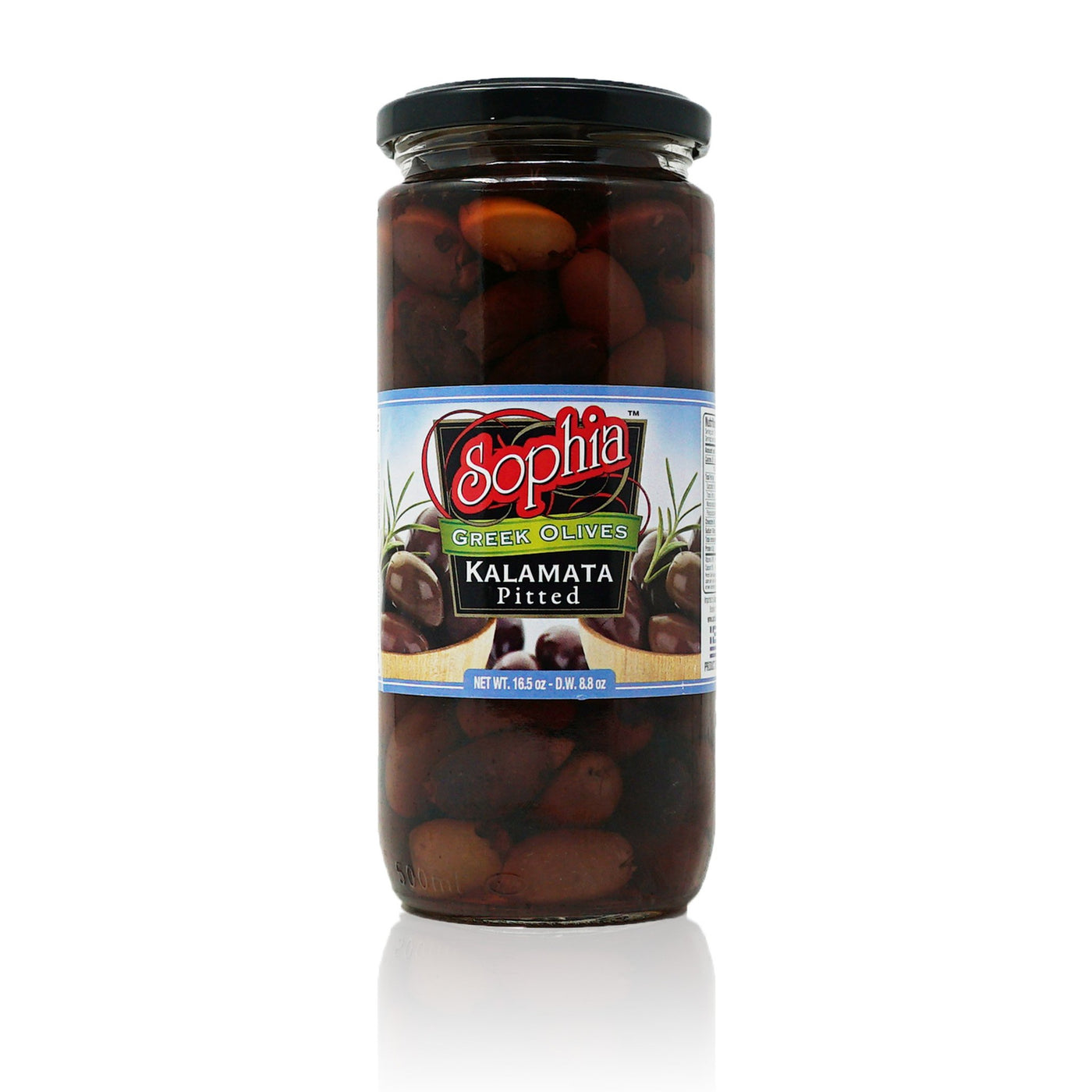 Sophia Olives - Greek Kalamata Pitted 16oz