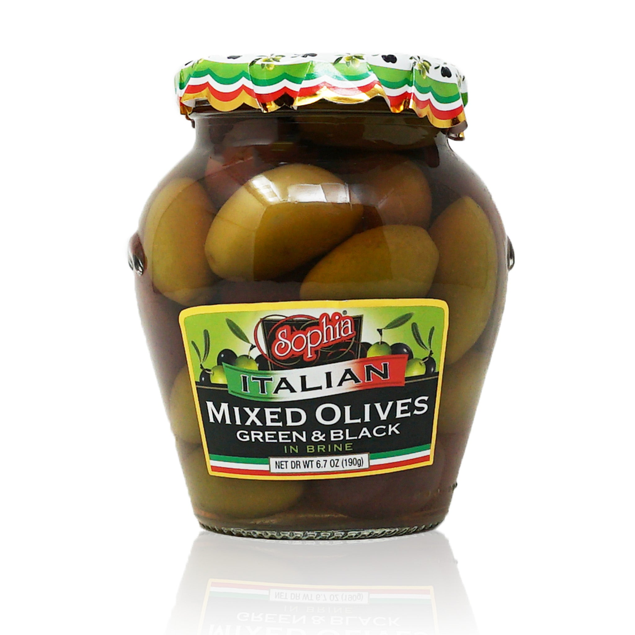 Sophia Italian Olives - Mixed