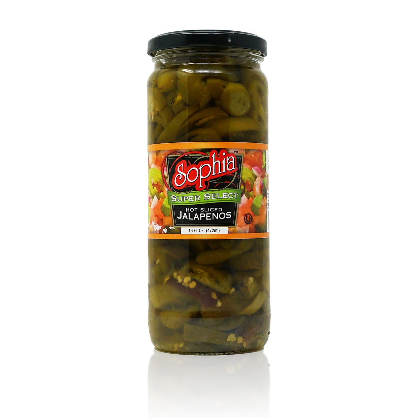 Sophia Peppers - Jalapenos, Sliced 17oz