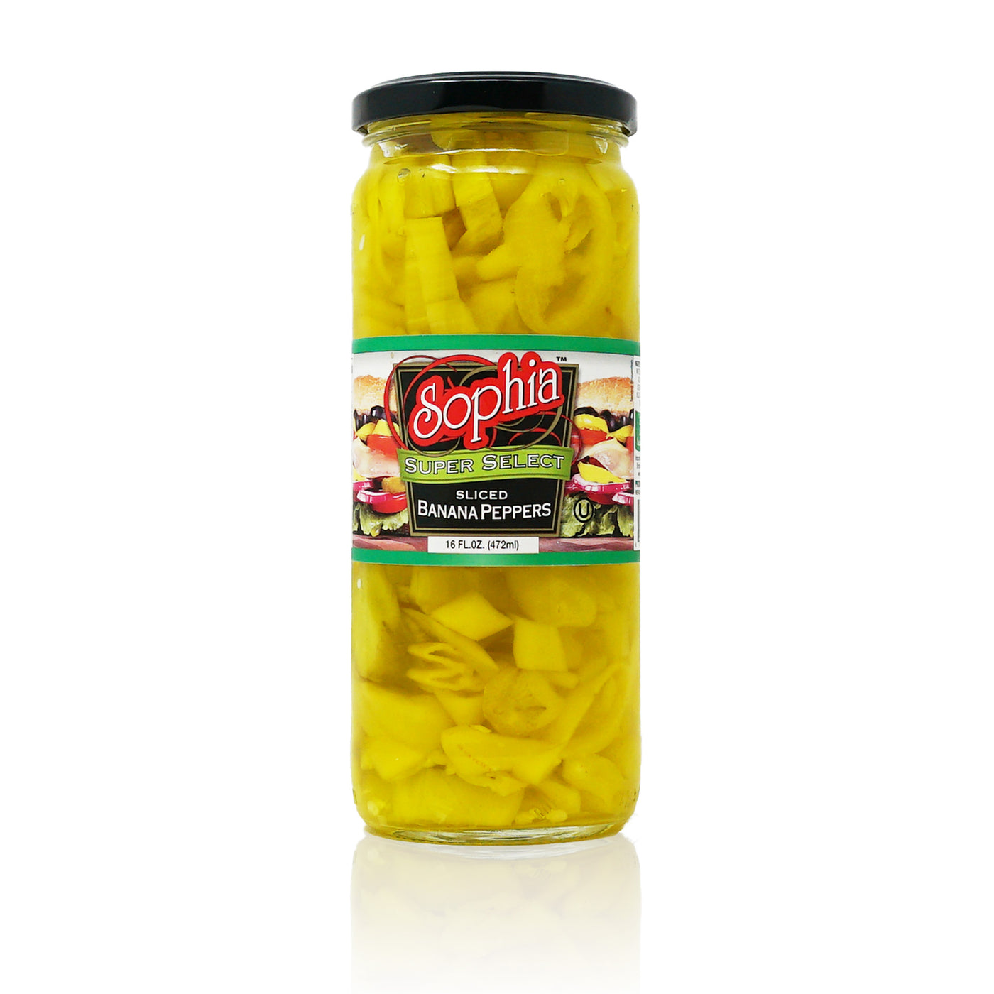 Sophia Peppers - Banana Peppers, Sliced 17oz