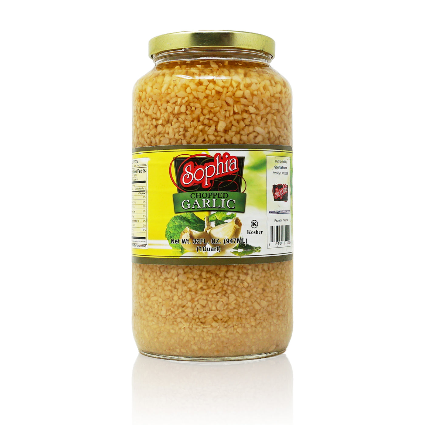 Sophia Garlic - Chopped 32oz