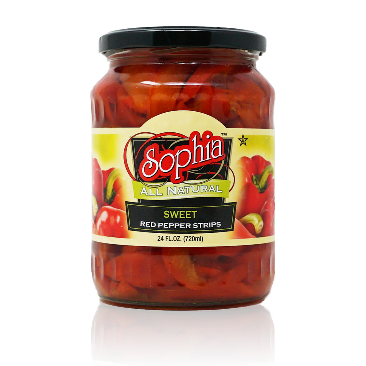 Sophia Peppers - Red Marinated Strips 24oz