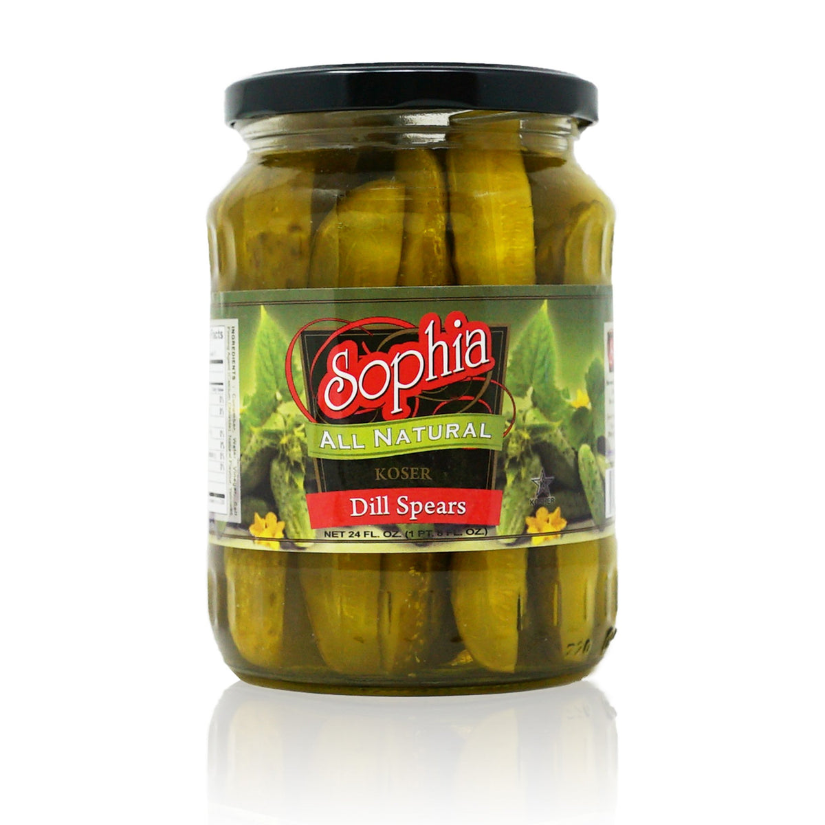 Sophia Pickles-Dill Spears 24oz