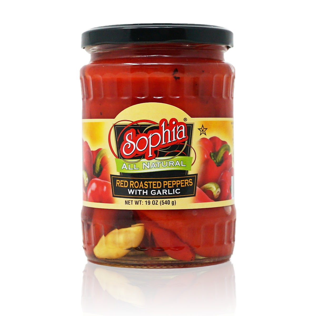 Sophia Peppers-Red Roasted with Garlic 19oz
