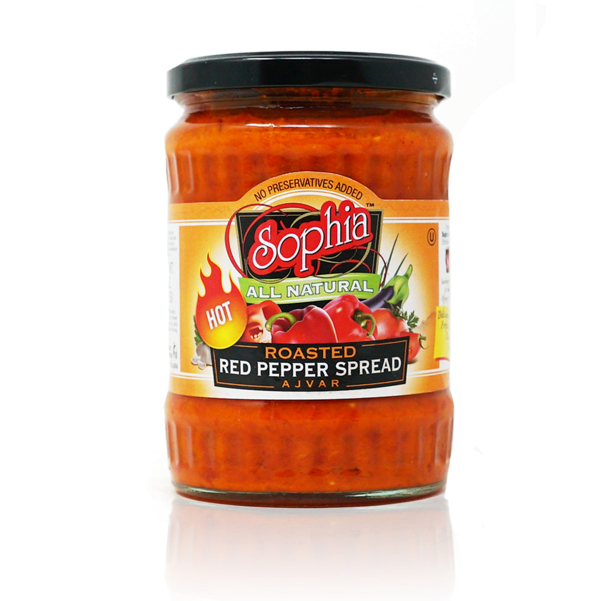 Ajvar Hot Red Pepper Spread