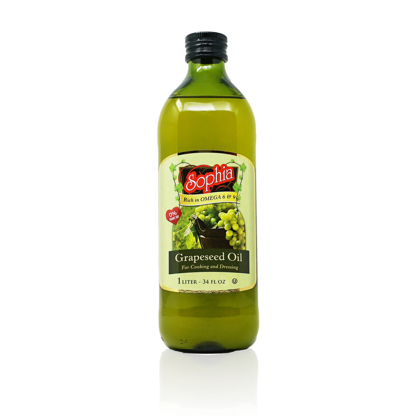 Sophia Oil-Grape Seed Oil 33.8oz