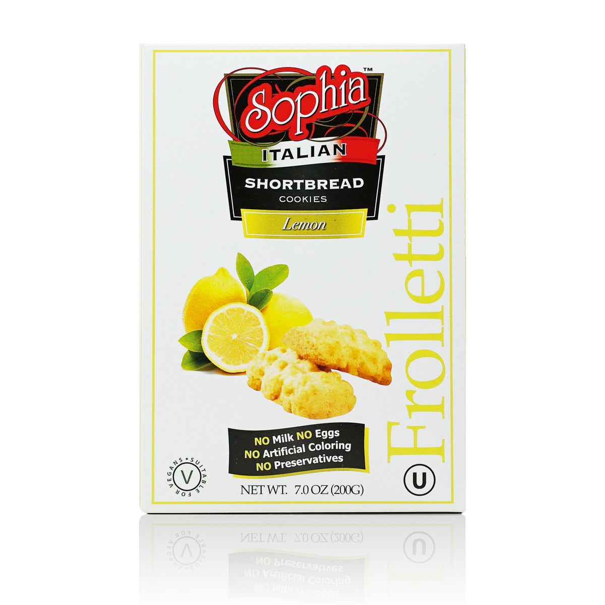 Sophia Frolletti Shortbread Cookies - Lemon