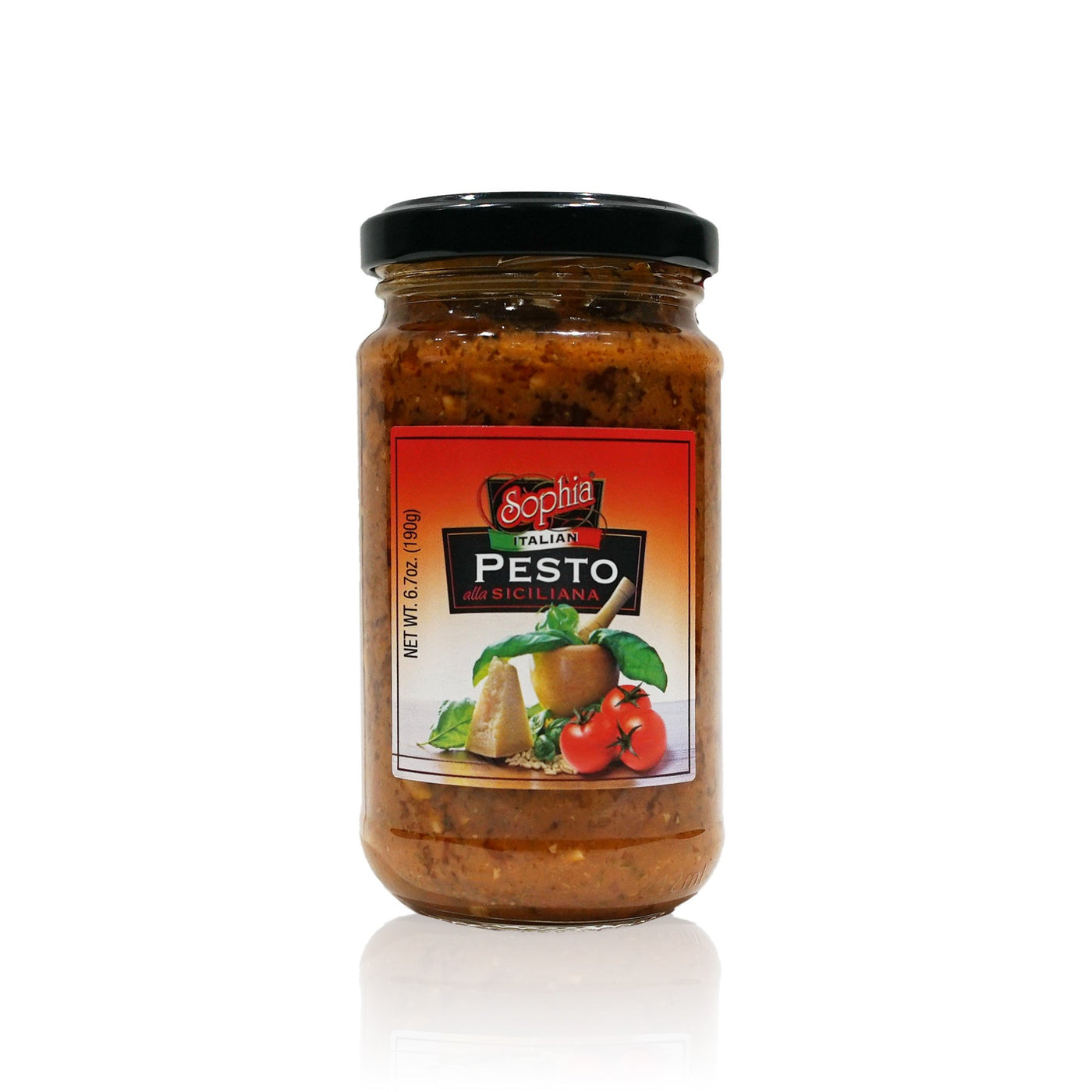 Sophia Pesto-Red Sun dried Tomato from Italy 6.7oz