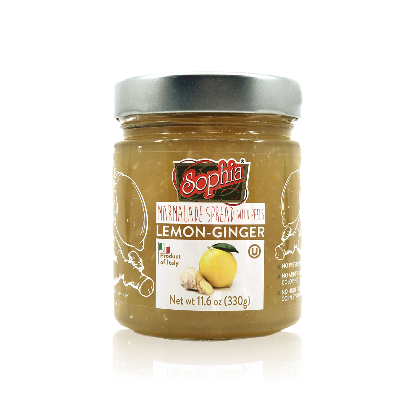 Sophia Fruit Spread - Lemon Ginger Preserves