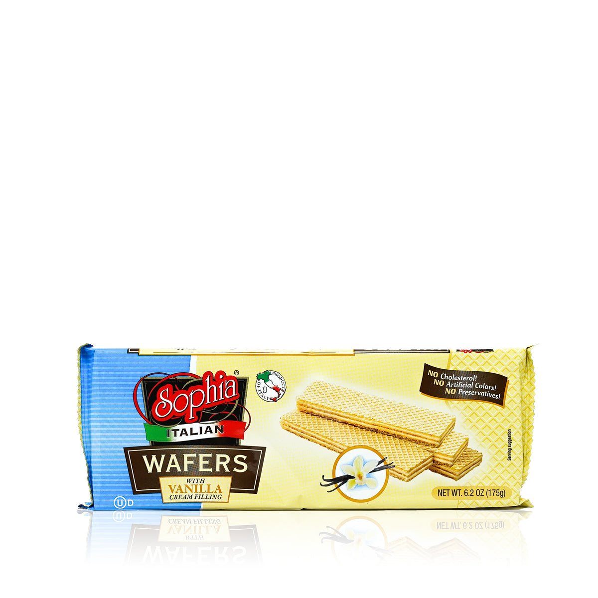 Sophia Wafers-Italian Wafer Fingers, Vanilla 6.2oz