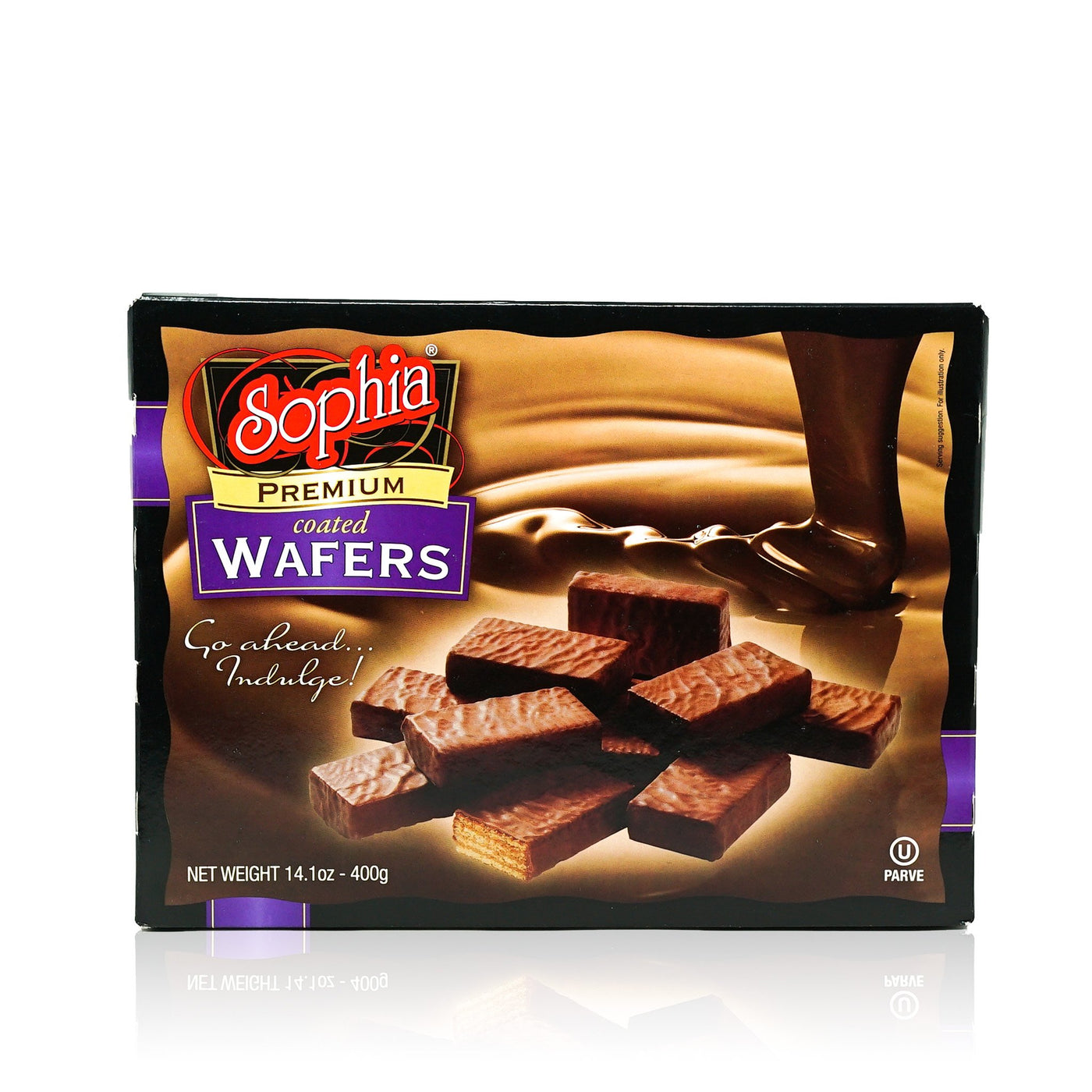 Sophia Wafers - Coated Chocolate 14.1oz-3 pack