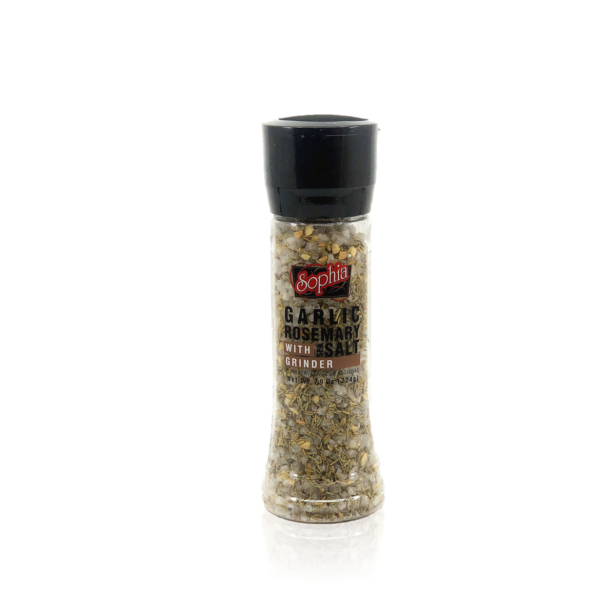 Sophia S&P Grinder - Garlic & Rosemary Salt 7.9oz