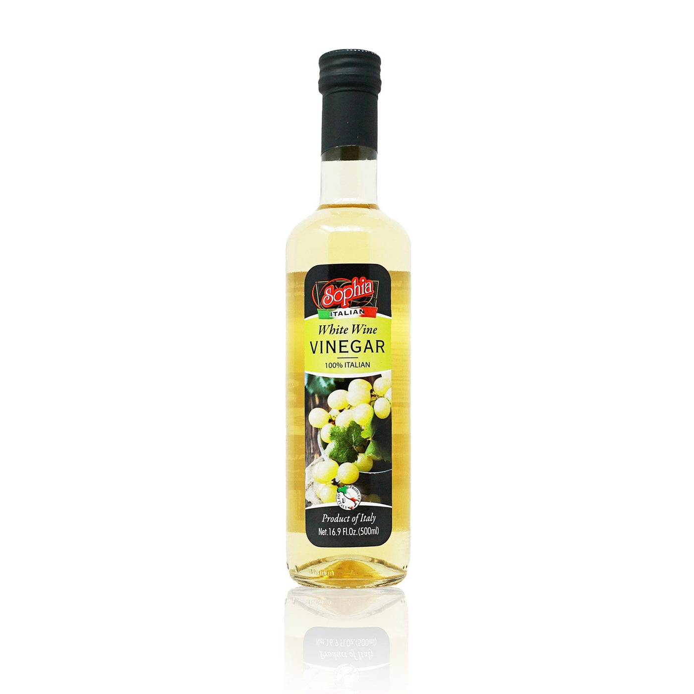 Sophia Vinegar - Italian White Wine Vinegar 16.9oz