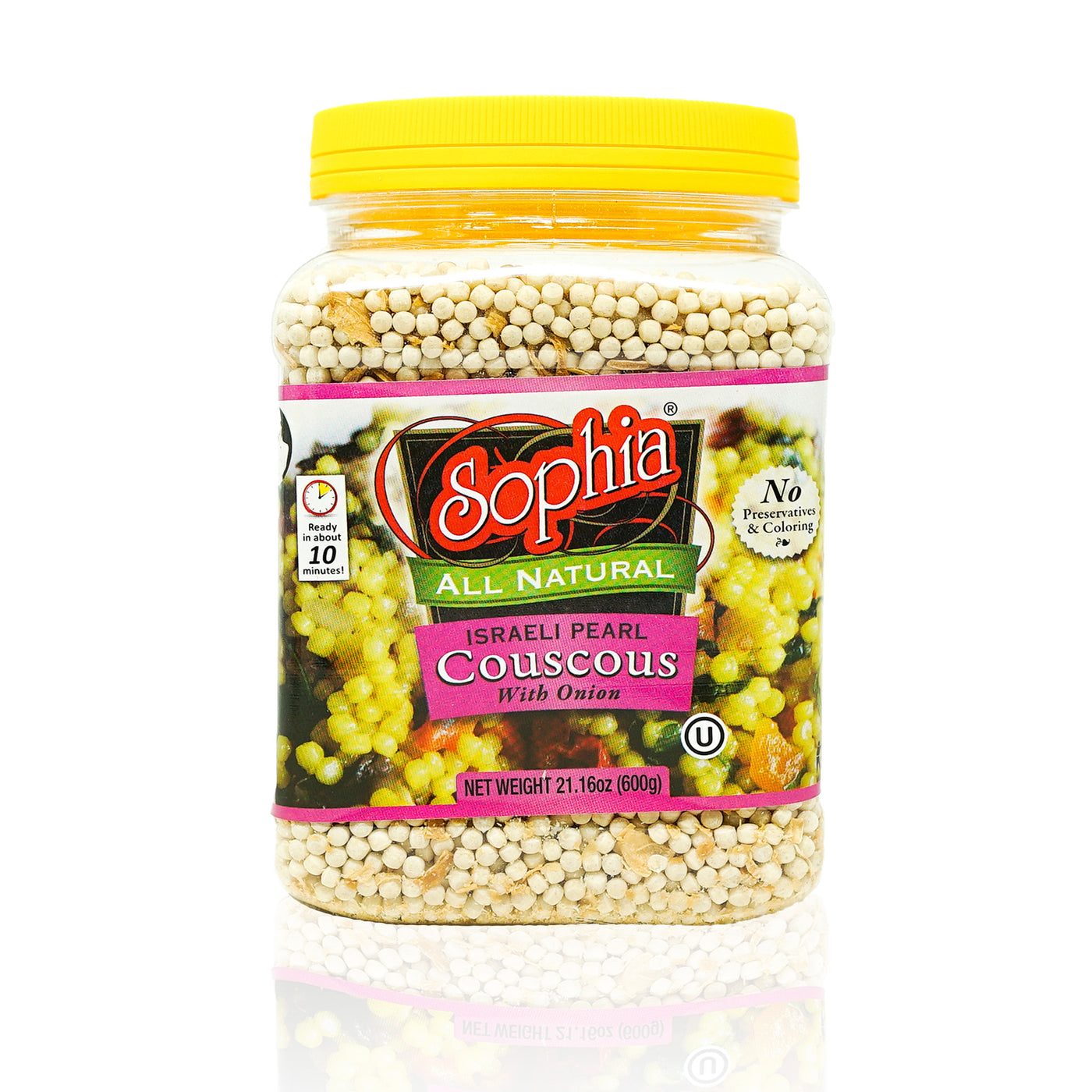 Sophia Couscous - Israeli Toasted Pearl Couscous w/ Onion
