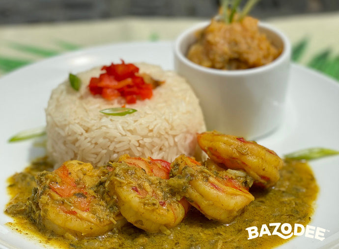 Bazodee® Curry Shrimp with Curry Pumpkin