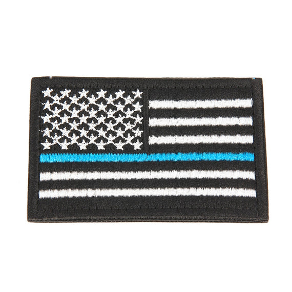 Embroidered USA Flag Patches Army Badge Patch Tactical Military Patches Fabric US Flag Cloth Armband United States Flag Badge