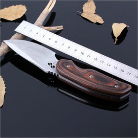 Binoax Multifunction Straight EDC Survival Hunting Knife Outdoor Camping Tools with Bag