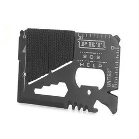Outdoor 14 in1 Pocket Credit Card Knife Survival Bottle Opener EDC Multi Tool
