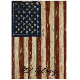 12.5'' x 18'' Stripes Old Glory Patriotic Garden House Vintage USA American Flag