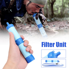 Mini 1000L Wild Survival Purification Pressure Drinking Water Filter Pipette