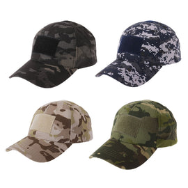 Military Tactical Camo Cap Army Baseball Hat Patch Digital Desert SWAT CP Caps #0706