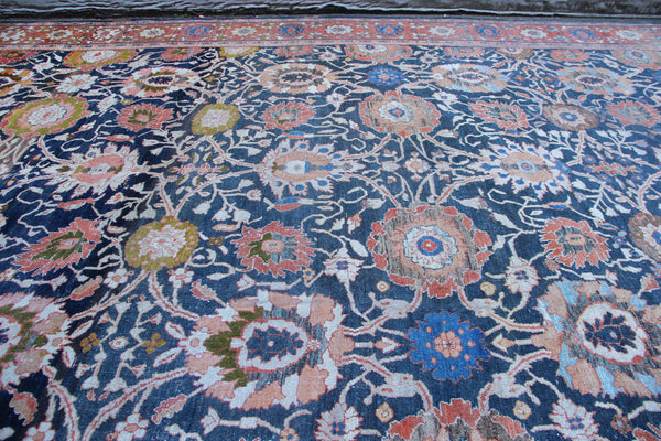 Giant Antique Ziegler & Co Carpet