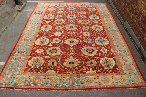 Antique Ziegler & Co carpet ca 1890